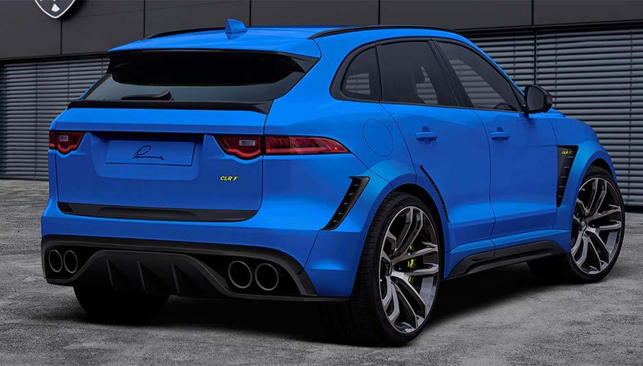 Jaguar F-Pace Lumma Design