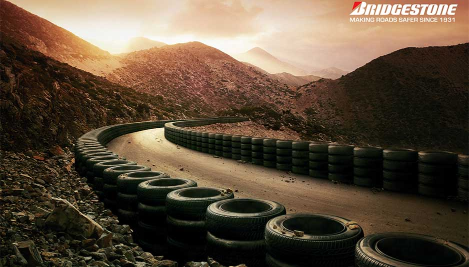 bridgestone tirewall