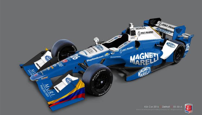 Magneti Marelli e Andretti Autosport