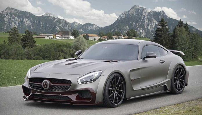 Mercedes AMG GTS By Mansory