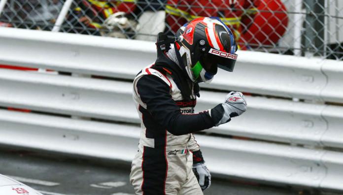 Pilota Porsche Junior Matteo Cairoli