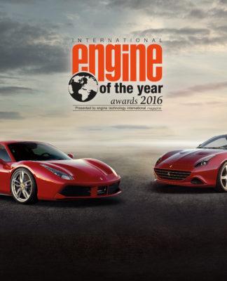 Ferrari motore dell'anno 2016