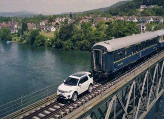 Discovery Sport traina treno