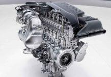 6 cilindri in linea Mercedes