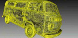 scanner 3d auto