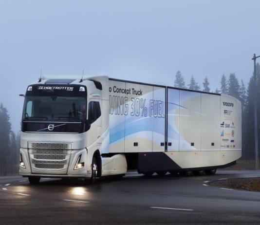 Volvo Concept Truck, veicolo ibrido, catena cinematica ibrida per trasporti a lungo raggio