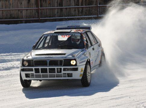 auto su ghiaccio