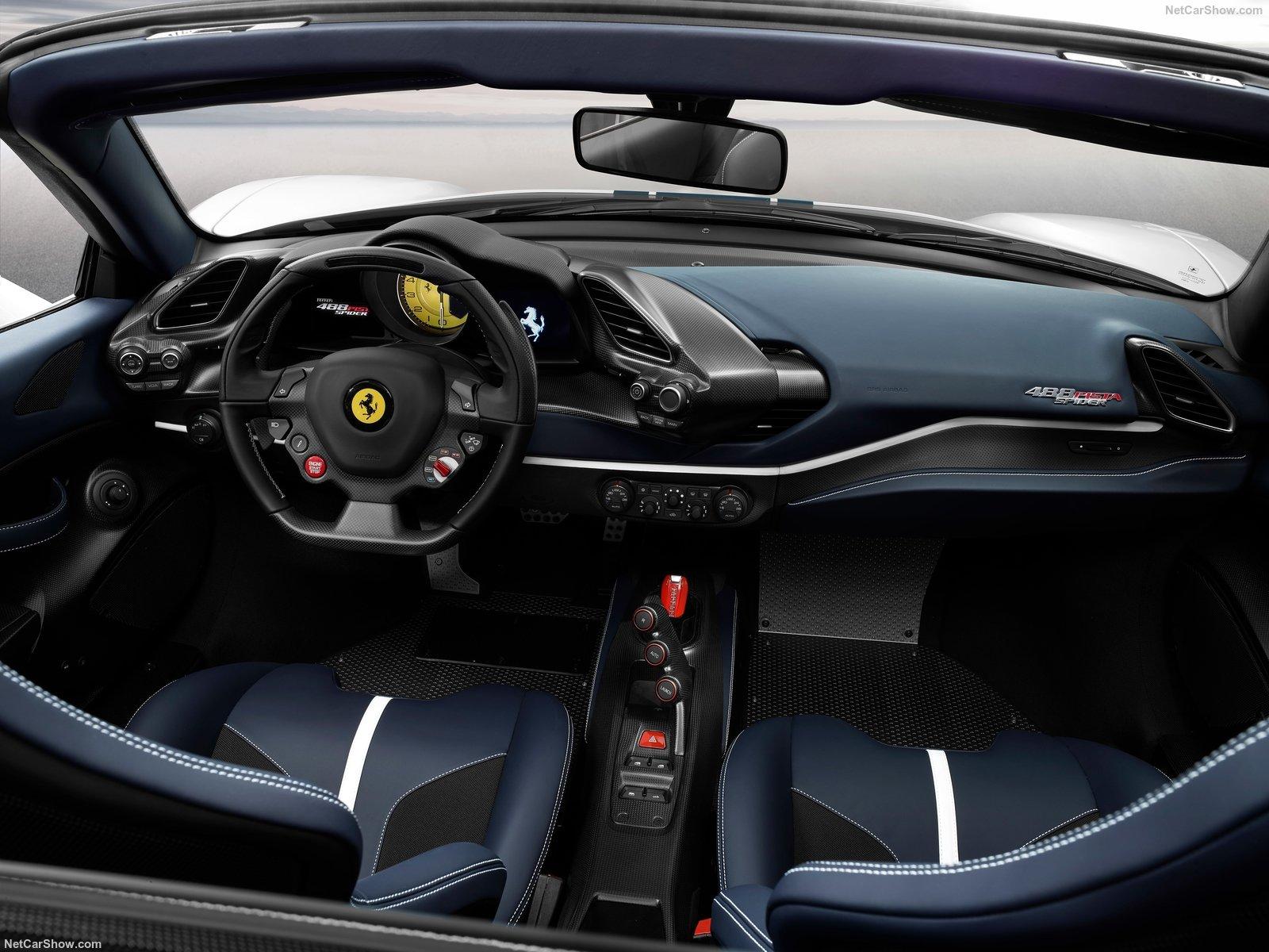 Ferrari 488 Pista Spider: la scoperta più potente del marchio