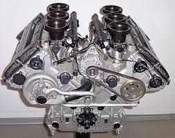 Configurazione di un motore a combustione interna, configurazione a V, V6
