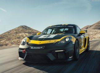 Porsche 718 Cayman GT4: l'auto fatta anche con la canapa