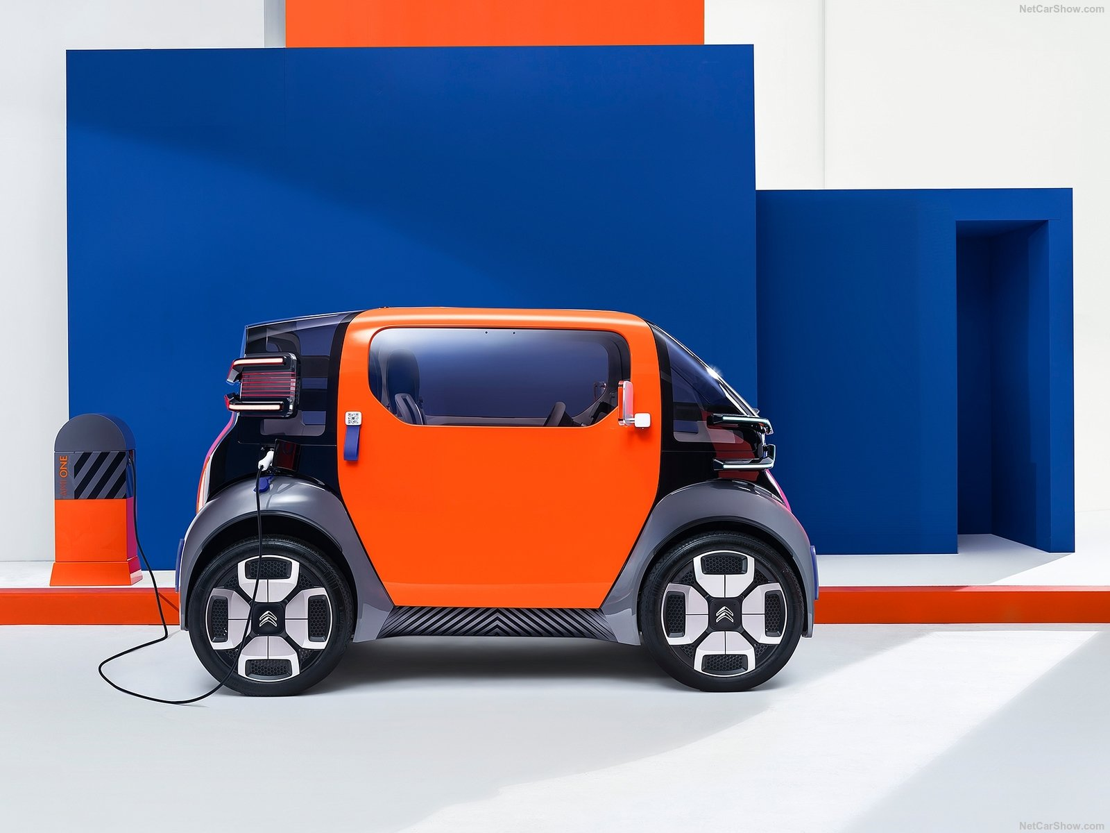 Citroen Ami One: l'auto elettrica più piccola di sempre