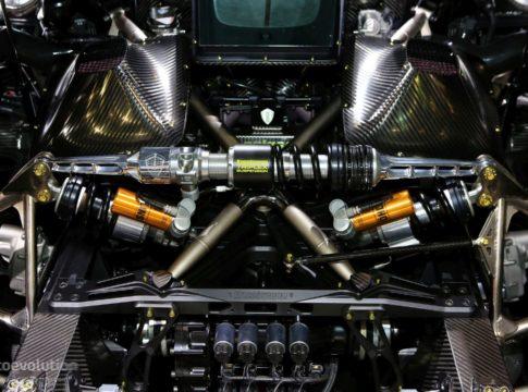 Koeniggsegg jesko powertrain