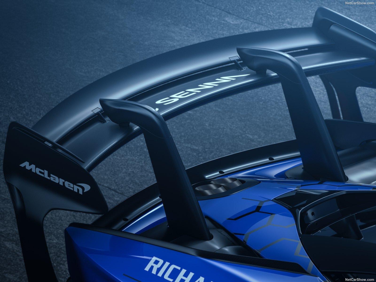 McLaren Senna GTR: la hypercar da pista