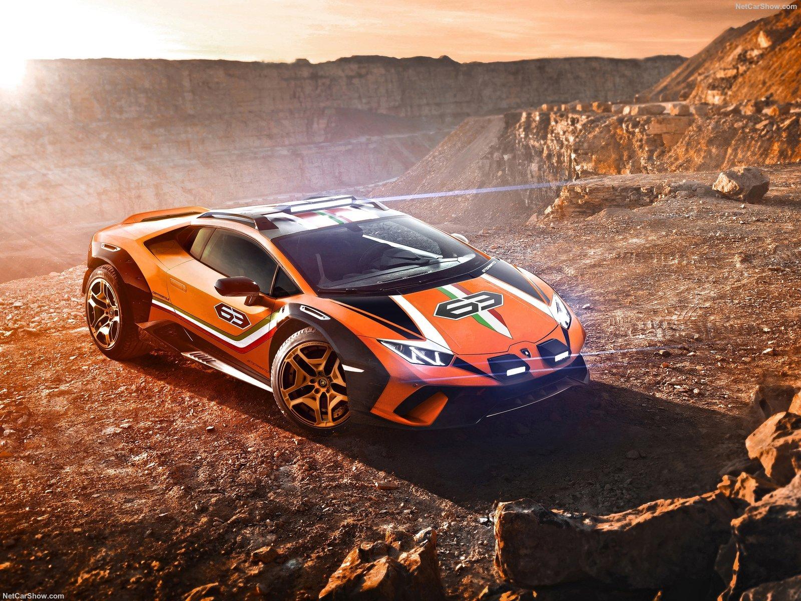 Lamborghini Huracan Sterrato: la supercar da fuoristrada