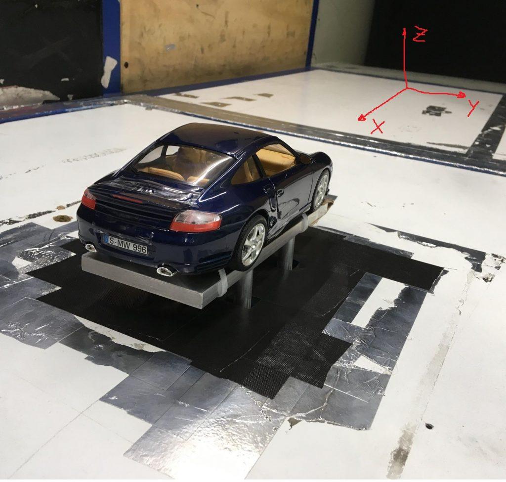 Test aerodinamico