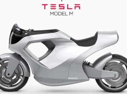 Tesla Model M: la moto costruita attorno al motociclista