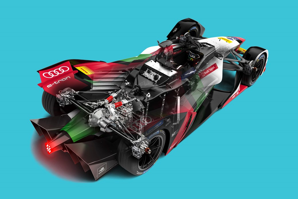 Formula E: Audi e-tron tech