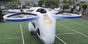 Macchina volante: la NEC in Giappone mostra il funzionamento di un prototipo