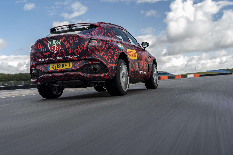 DBX Aston Martin SUV