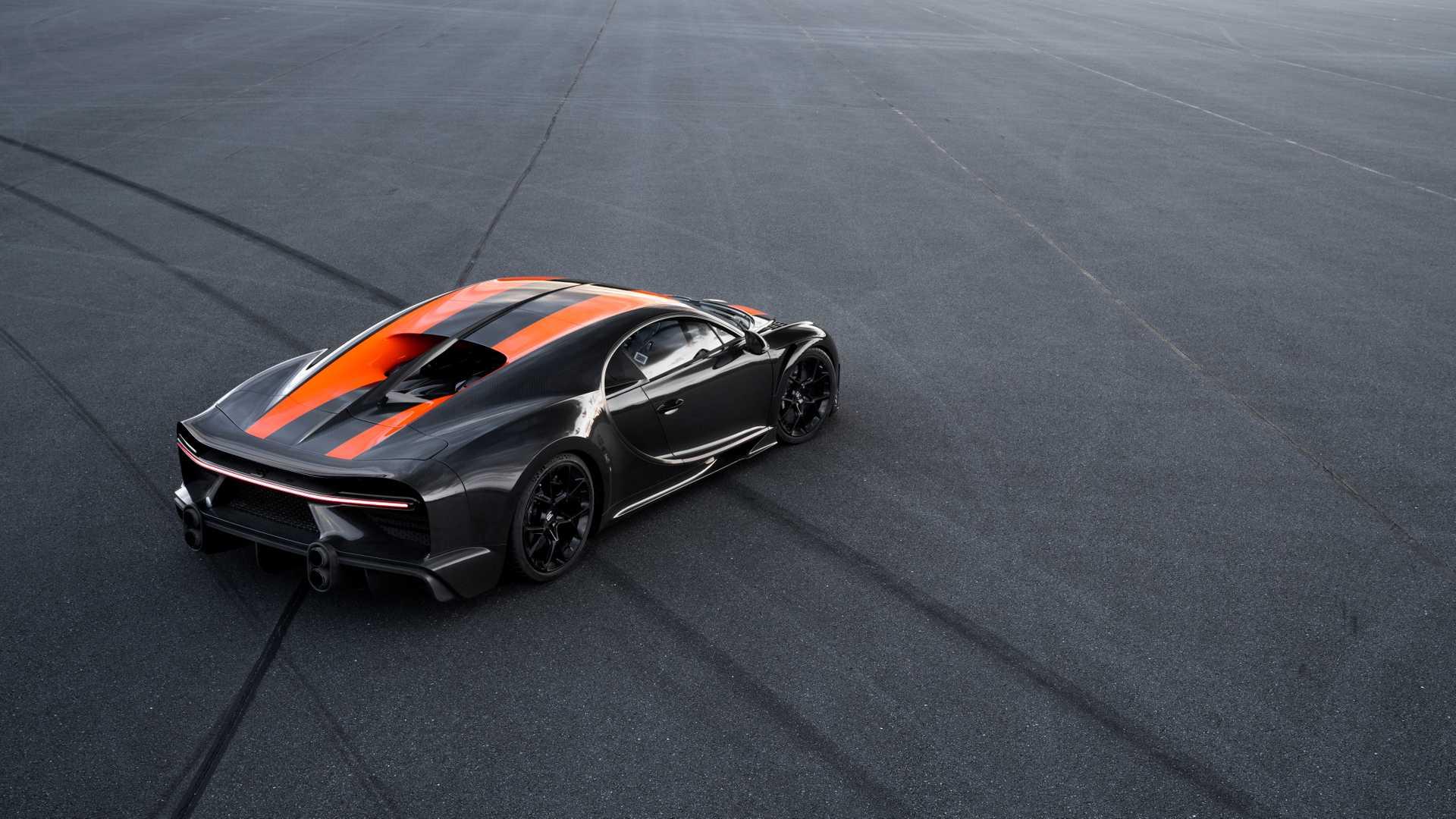 Bugatti Chiron: nuovo record mondiale oltre i 490 km/h (VIDEO)