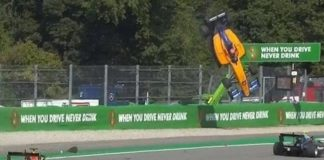 F3: incredibile incidente a Monza, l'auto di Peroni decolla per diversi metri (VIDEO)