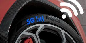 Pirelli Cyber Tyre: gli pneumatici smart che interagiscono fra loro con la rete 5G