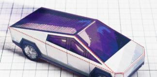 Cybertruck di carta