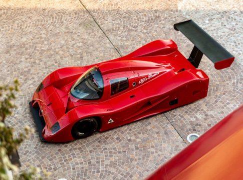 Alfa Romeo Sport Prototipo: la vettura del Gruppo C da corsa mai nata