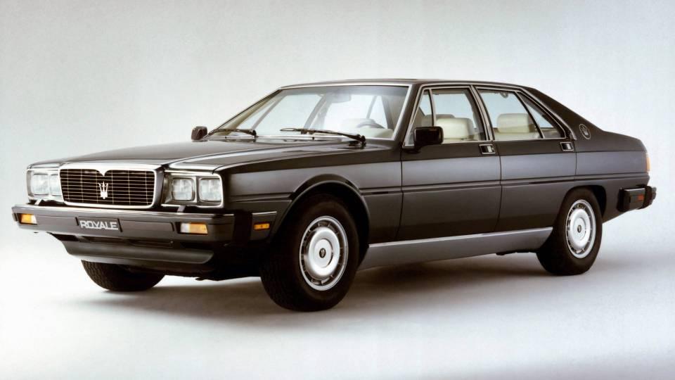 Maserati Royale 1986 - Maserati Quattroporte Royale