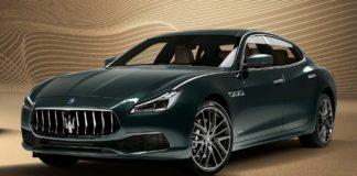 Maserati Quattroruote royale, colorazione Verde Royale