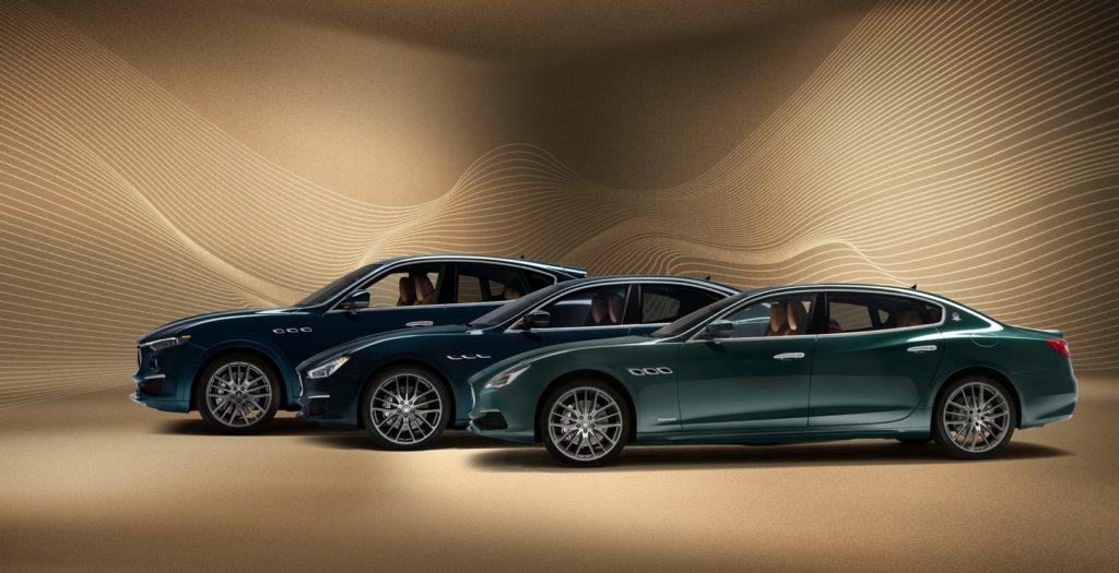 Maserati Levante, Ghibli, Quattroporte Royale 2020