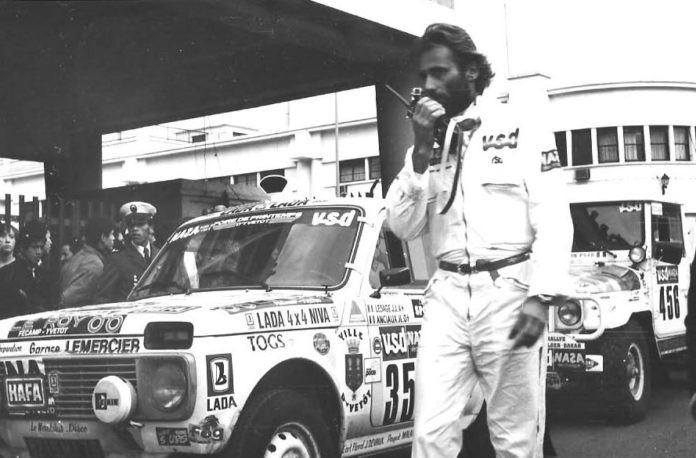 Thierry Sabine Dakar