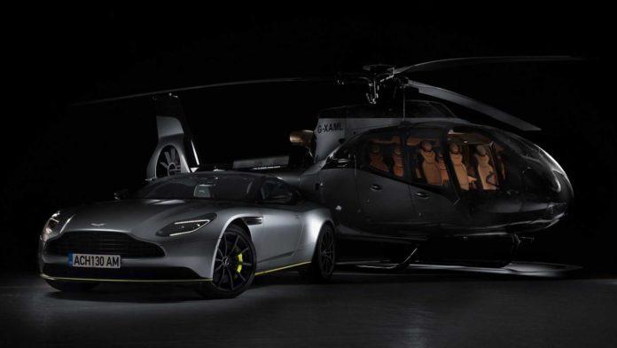 Aston Martin e Airbus collaborano per l'elicottero
