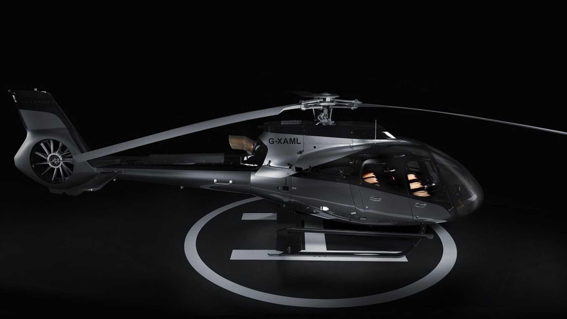 Collaborazione tra Aston Martin e Airbus per l'elicottero di lusso