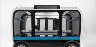 Olli debutta a Torino: il minibus con guida autonoma elettrico stampato in 3D