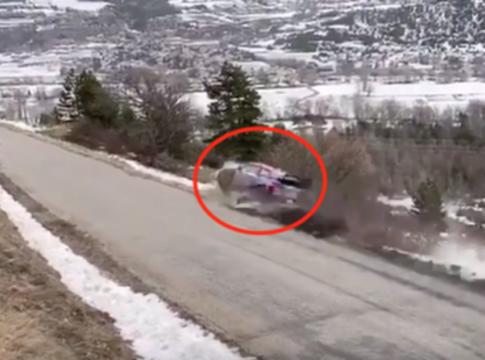 WRC 2020, Rally di Montecarlo: pauroso incidente per Ott Tanak a 180 km/h (VIDEO)