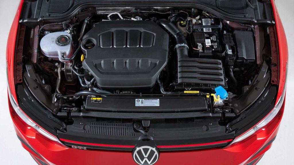 Motore della nuova Volkswagen Golf 8 GTI