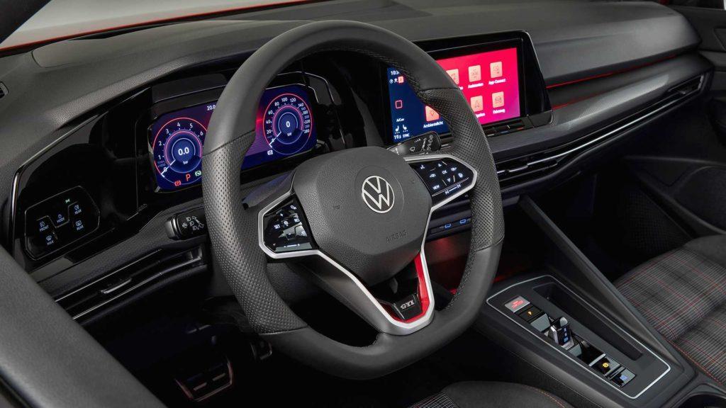Interno Volkswagen Golf GTI 2020