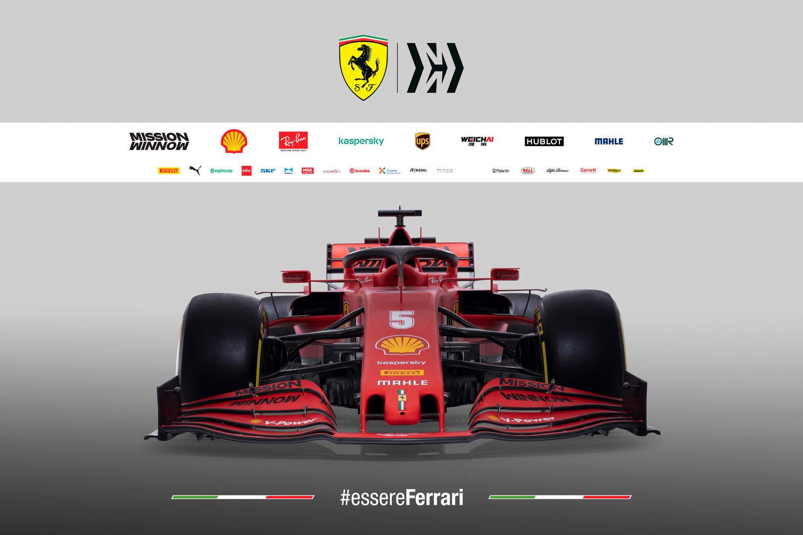 Ferrari SF1000: le soluzioni nella zona anteriore