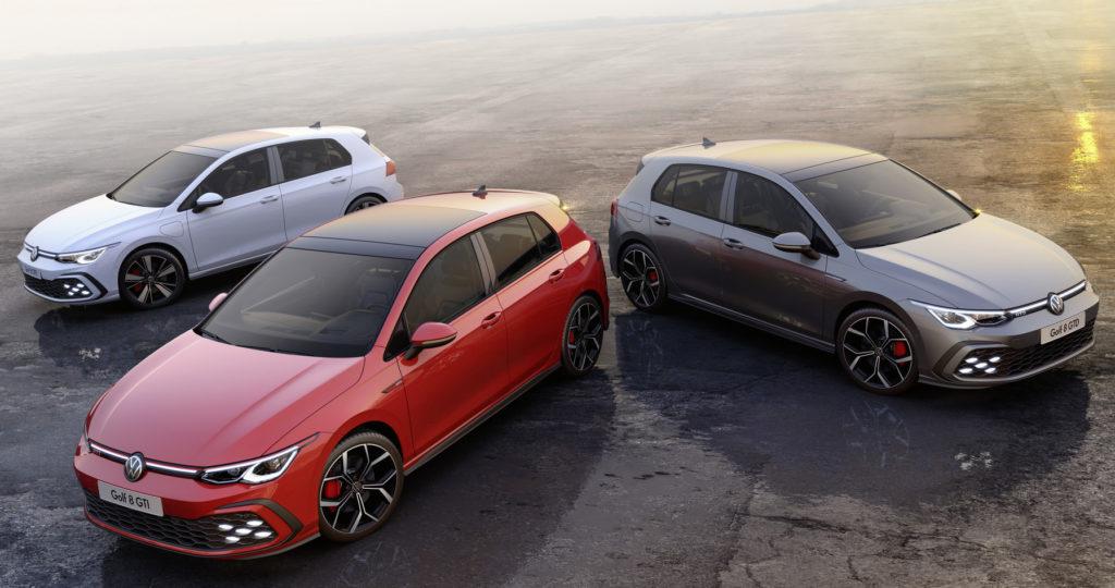 Volkswagen Golf GTE, GTI e GTD 2020