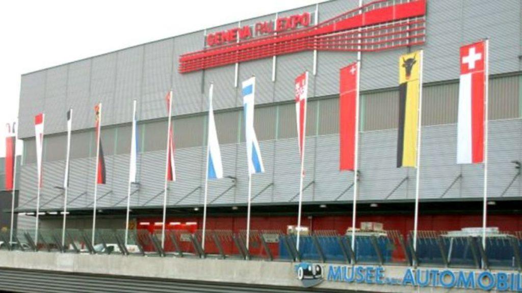 Palaexpo in cui si svolge il Salone di Ginevra