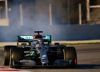 Lewis Hamilton F1 Mercedes W11