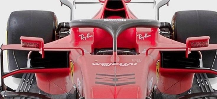 Ferrari SF1000: soluzioni specchietti retrovisori