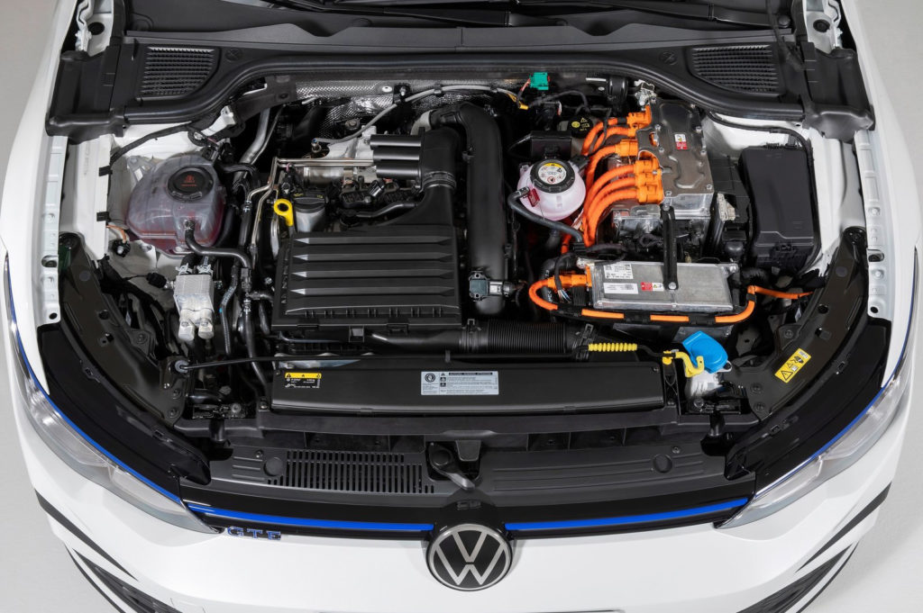 Il powertrain della Volkswagen Golf GTE 2020