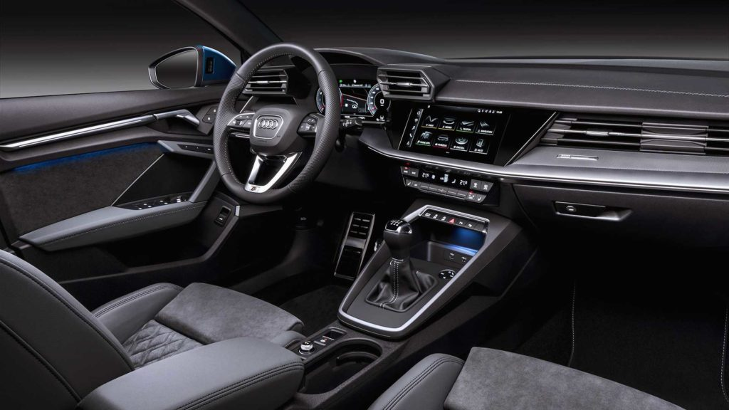 Interni della nuova Audi A3 Sportback 2020