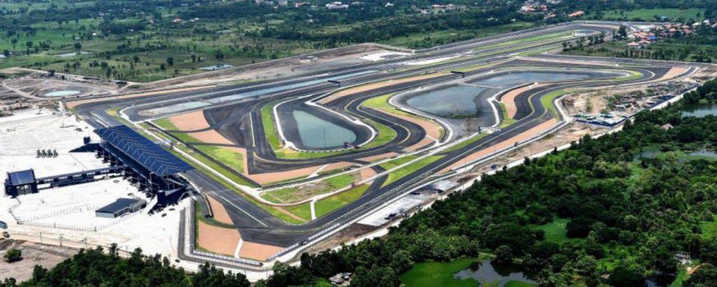 Tracciato di Buriram, dove si corre il GP di Thailandia