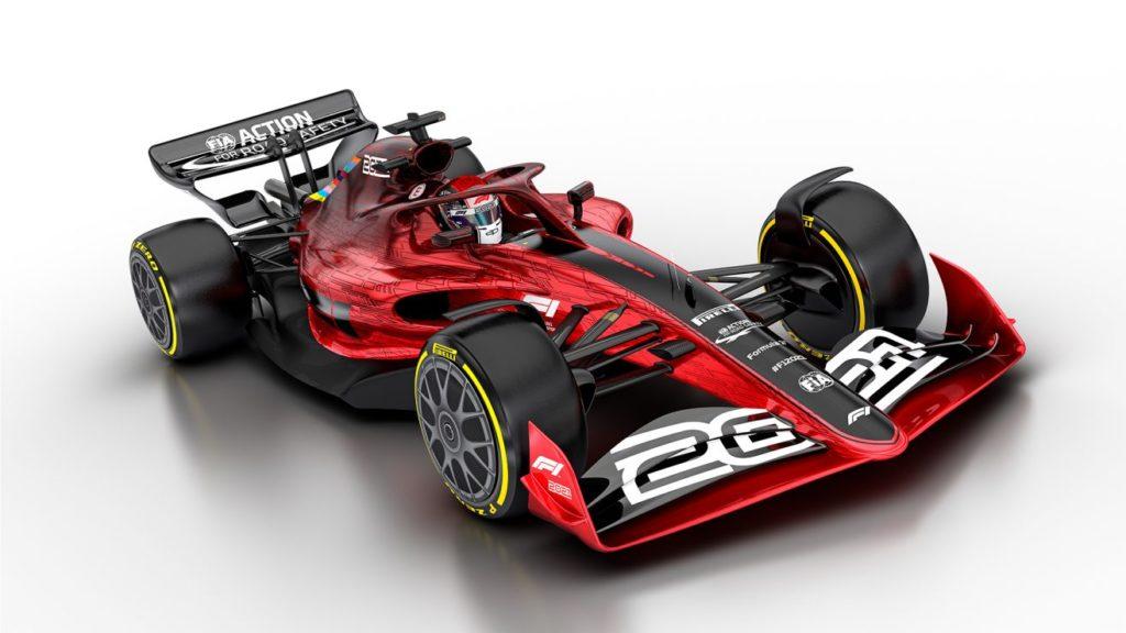 F1 2021 Fia concept