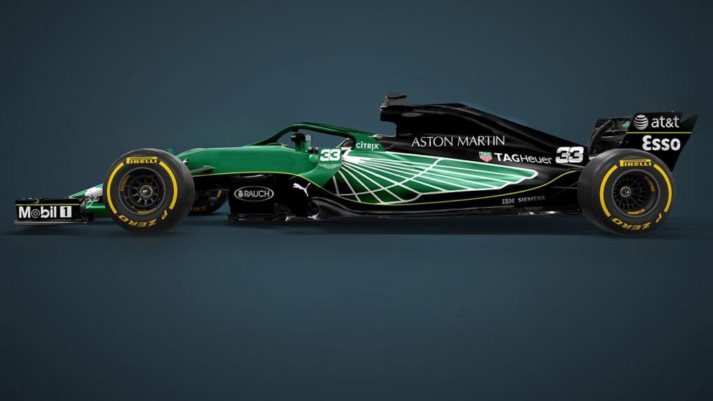 Render Aston Martin F1 2021