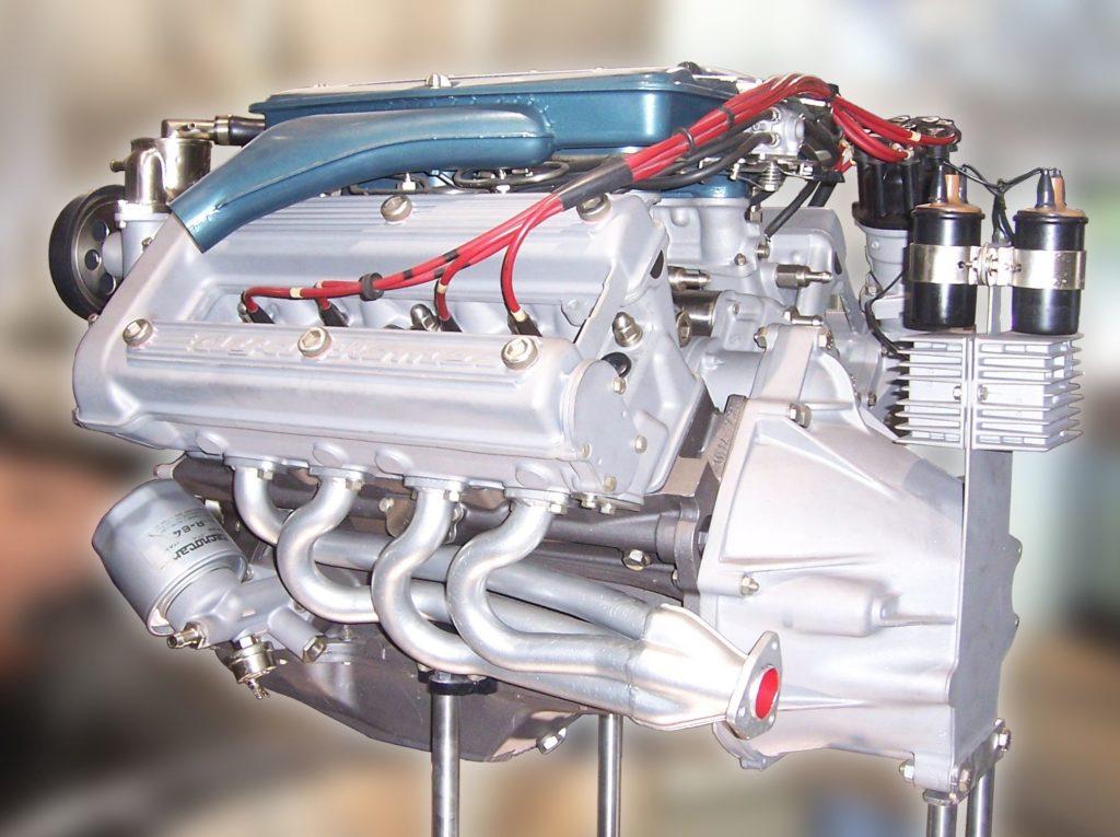 Il motore dell'Alfa Romeo Montreal