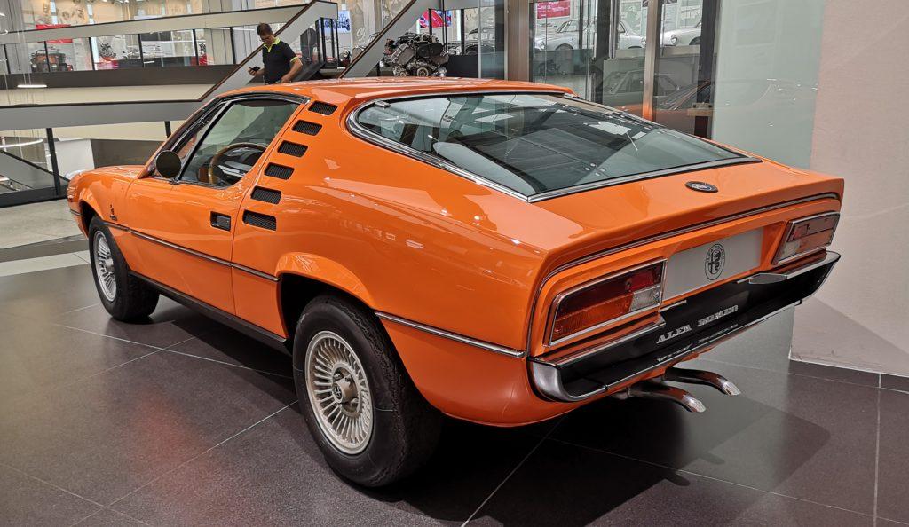 Vista posteriore dell'Alfa Romeo Montreal PH: VehicleCuE (Mattia Martis)